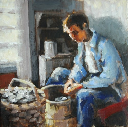 Clam Shucker, Newburyport, MA