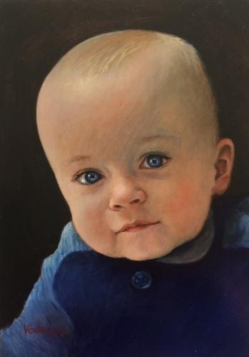 Baby George by Lynda  Kodwyck