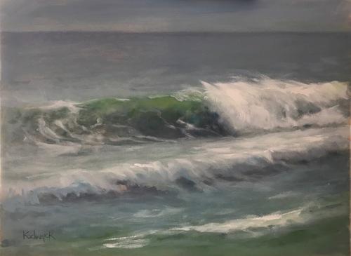 Emerald Curl by Lynda  Kodwyck