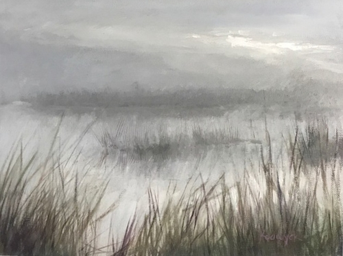 Misty Wetland Morning