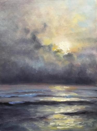 Study VII Sunset in Greys