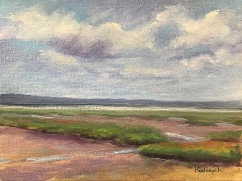 Plum Island Marsh, Low Tide