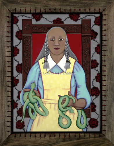 Grandmother With Snakes
