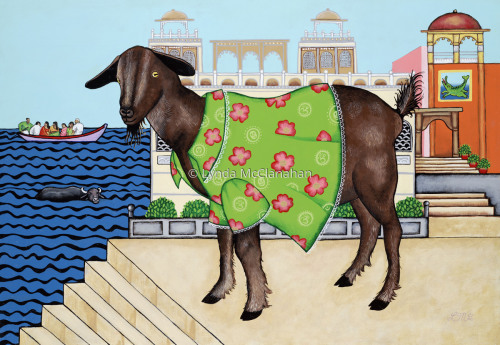 Goat in Dress