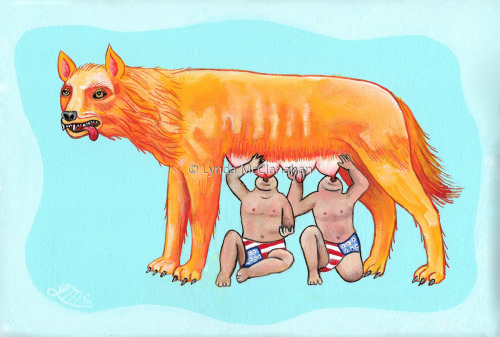 Romulus & Remus by Lynda McClanahan