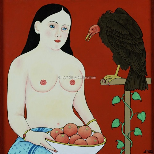 Nude With Buzzard