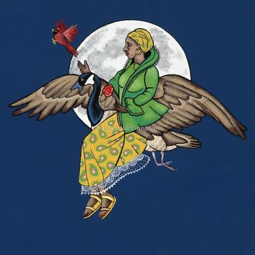Goose Goddess