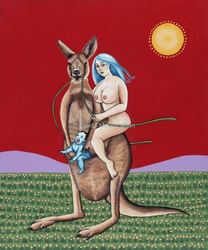 Nude With Kangaroo