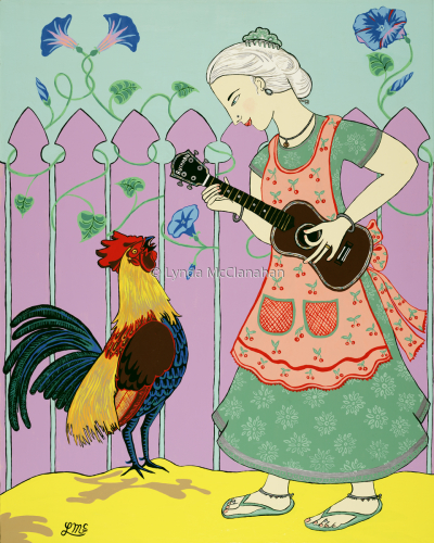Serenading the Rooster