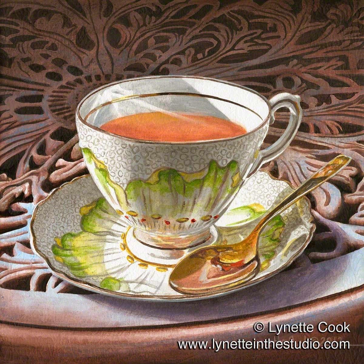 Sunshine Tea (large view)