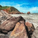 Boulders by the Beach (thumbnail)