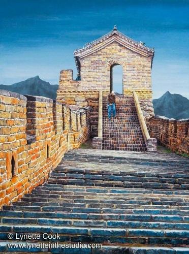 Painting--Acrylic-RealismThe Journey