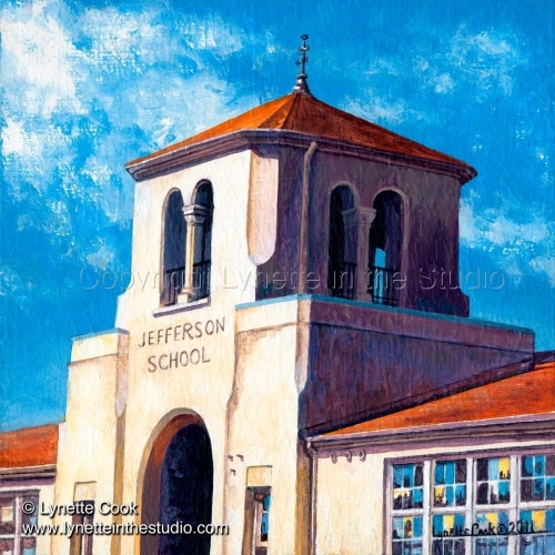 Painting--Acrylic-RealismJefferson Tower