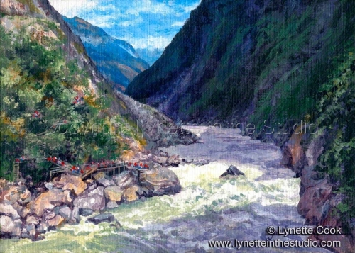 Tiger Leaping Gorge (large view)