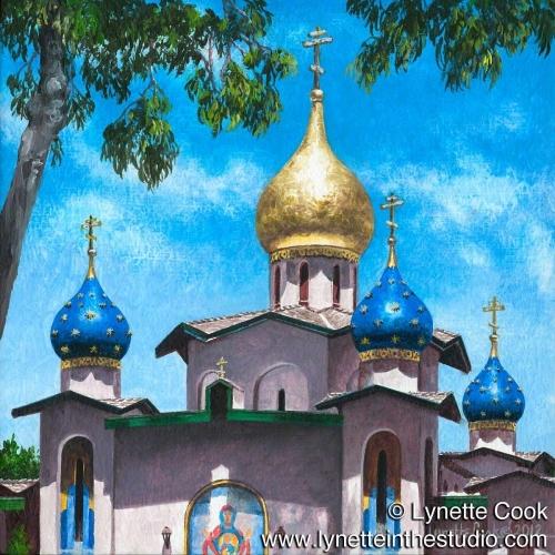Painting--Acrylic-SpiritualHeaven on Earth