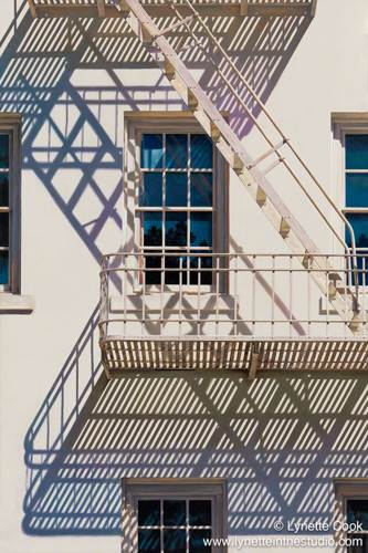 Presidio Abstraction by Lynette Cook