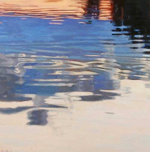 Pond, 6:29pm