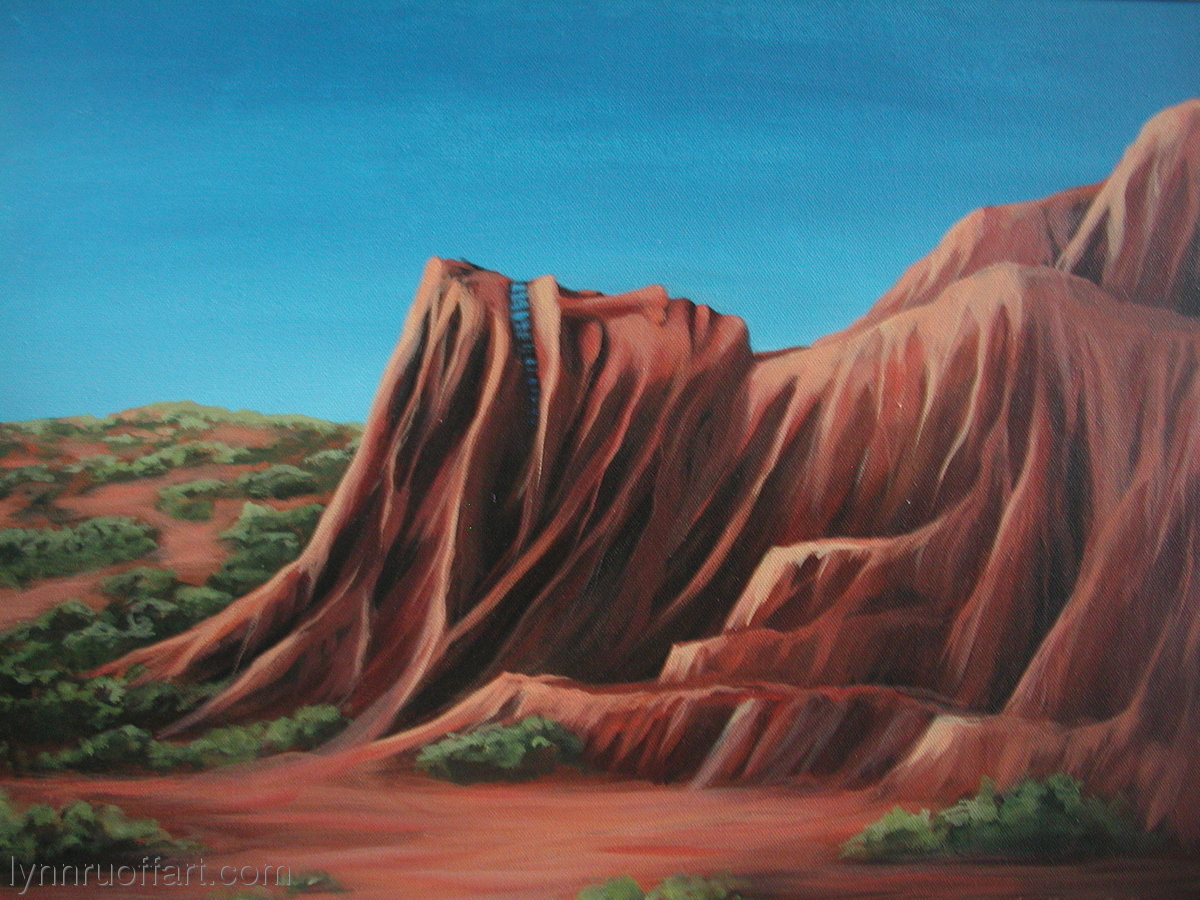 """""""Cliff Maiden"""" (large view)"""