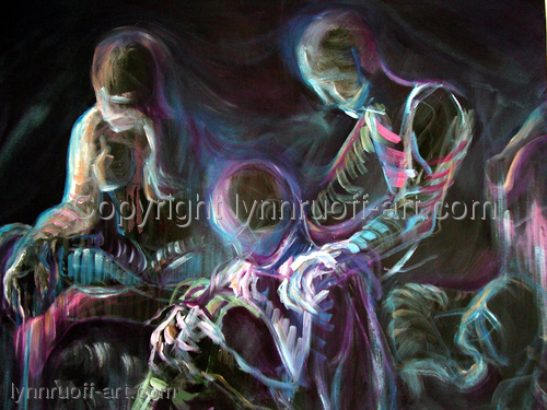"""Fog"" by lynnruoff-art.com"
