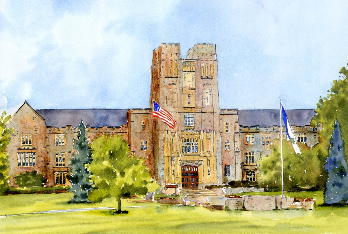 Burress Hall, Virginia Tech (large view)