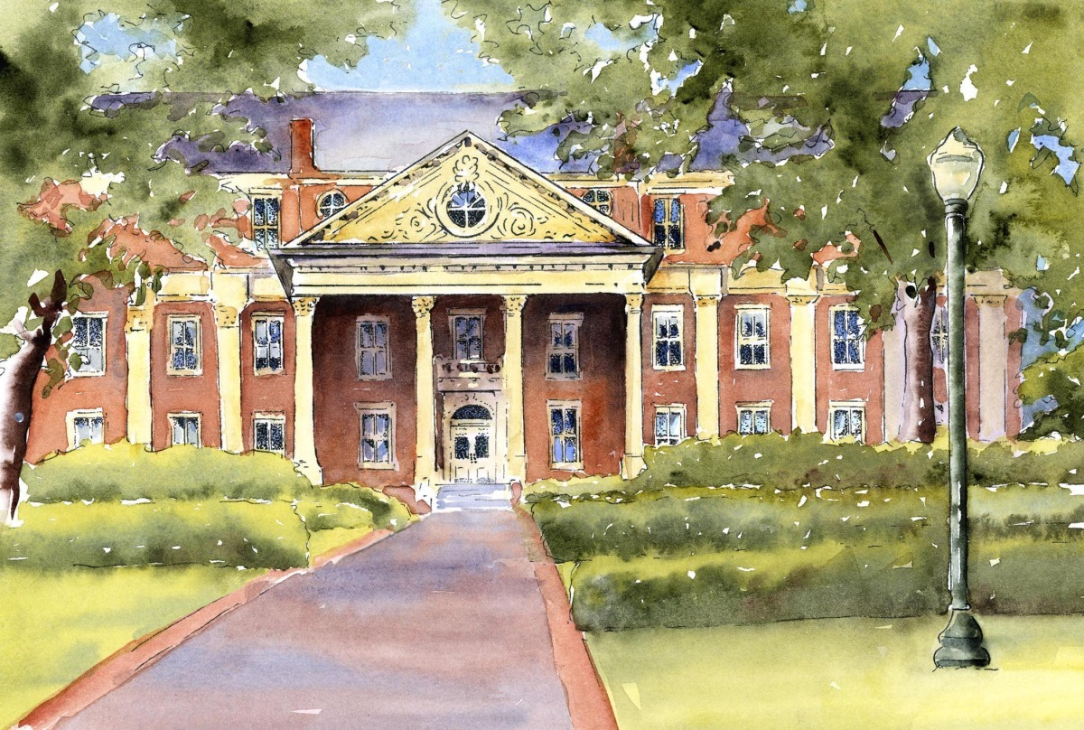 Roanoke College, Administration Building, (large view)
