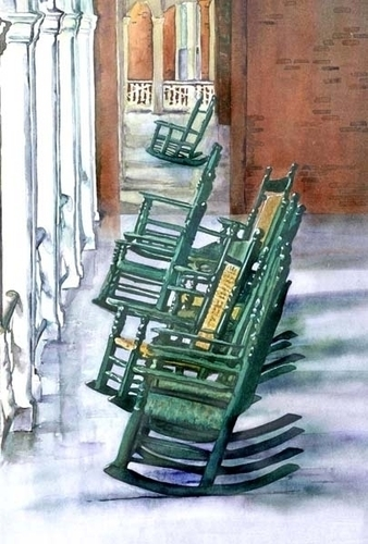 Hollins University Rocking Chairs