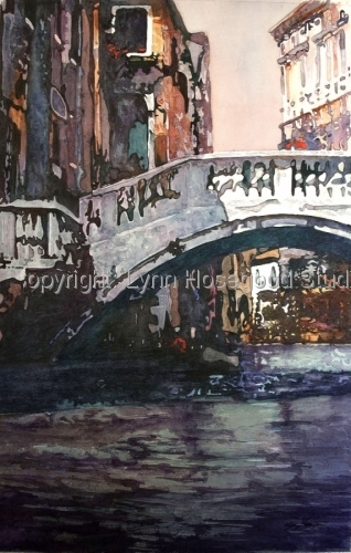 Taxi Ride, Venice by Lynn Hosegood Studio