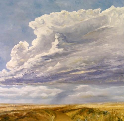 Storm Cloud I by Judy McClain