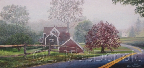 Into an Eastham Mist by Lori MacDonald Fine Art