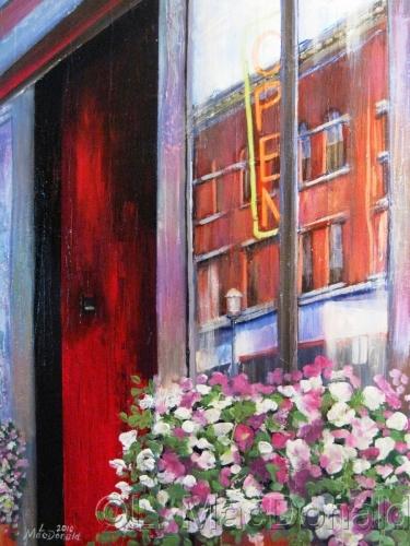 Open on Parker Street by Lori MacDonald Fine Art