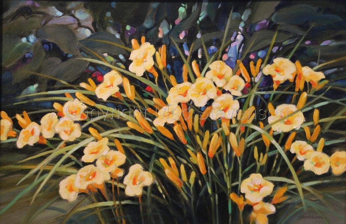 Backyard Lillies II (large view)
