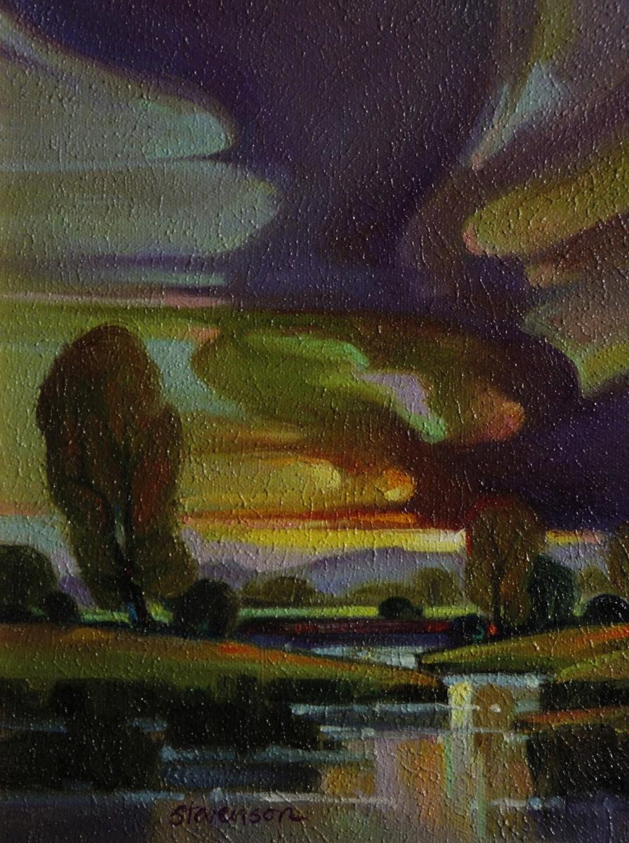 Lavender Rising (large view)