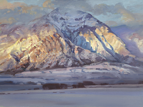 November Snow/Ben Lomond (large view)