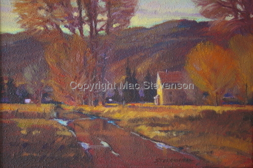 Peoa Morning (large view)
