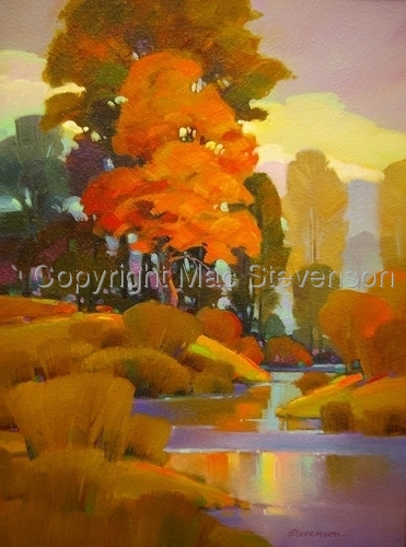 Cottonwood and Maple (large view)