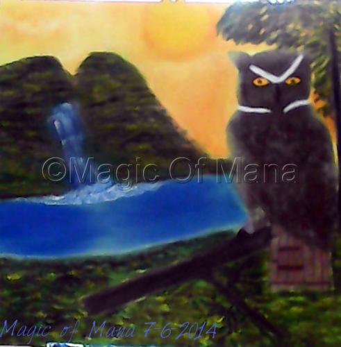 "Owl""s Paradise by Magic Of  Mana"