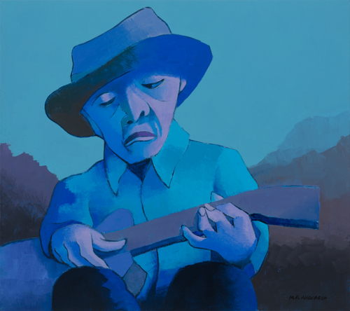 Old Blues Man #3