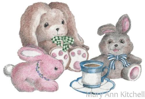 Pinkie, Flopsie, and Susie Sunshine