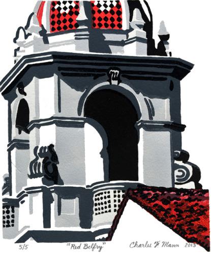 Red Belfry by Charles F. Mann