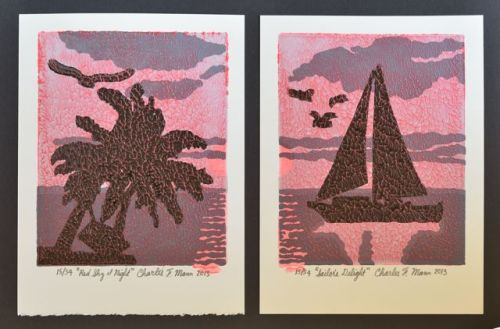 Red Sky Diptych