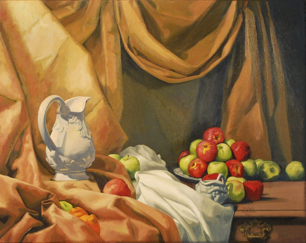 Still Life With Apples (large view)