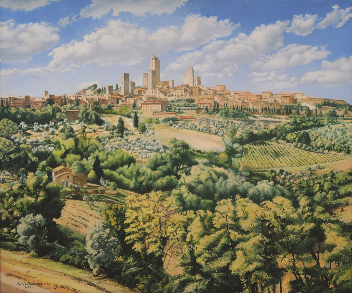 View of San Gimignano, 2003 (large view)