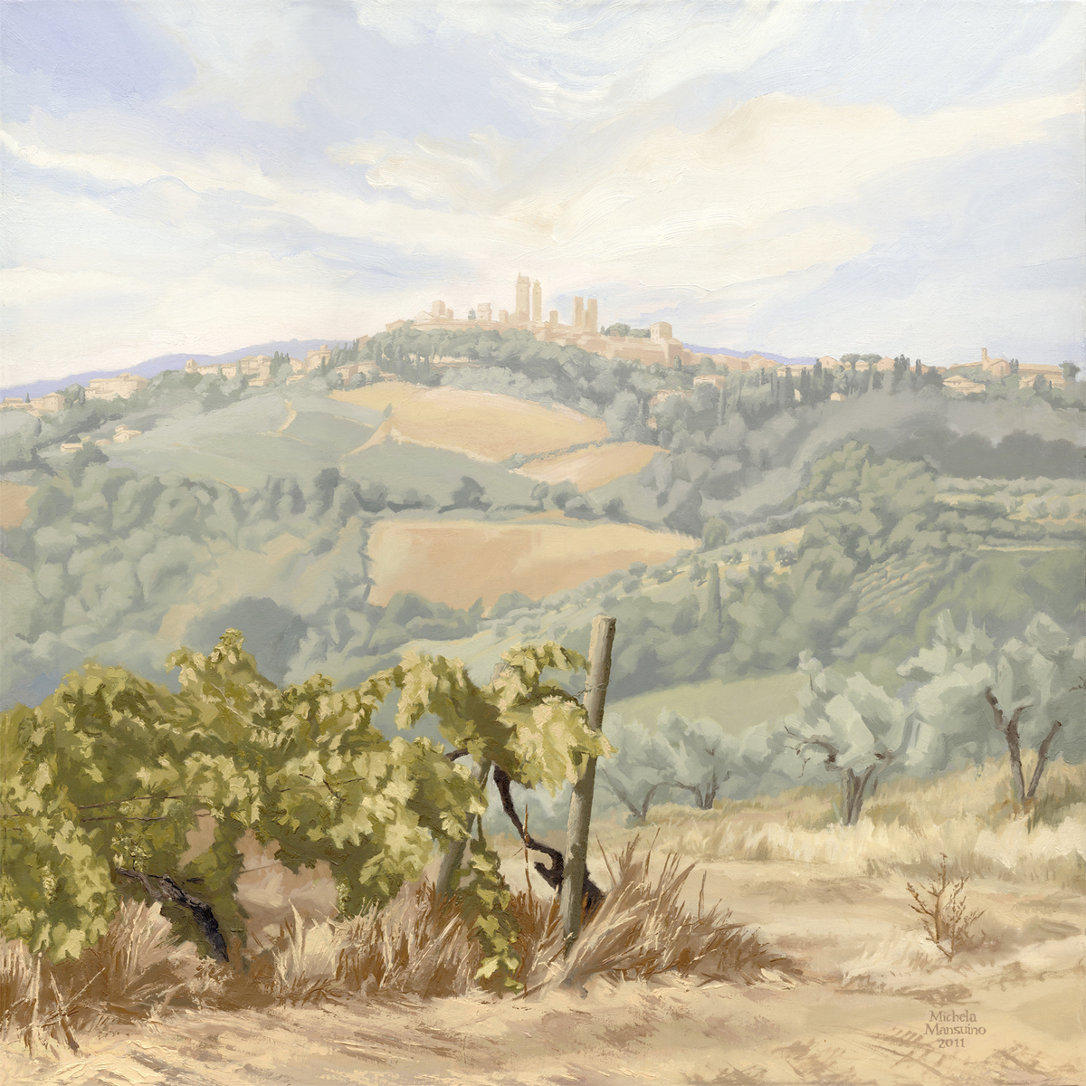 San Gimignano And The Message It Conveys (large view)