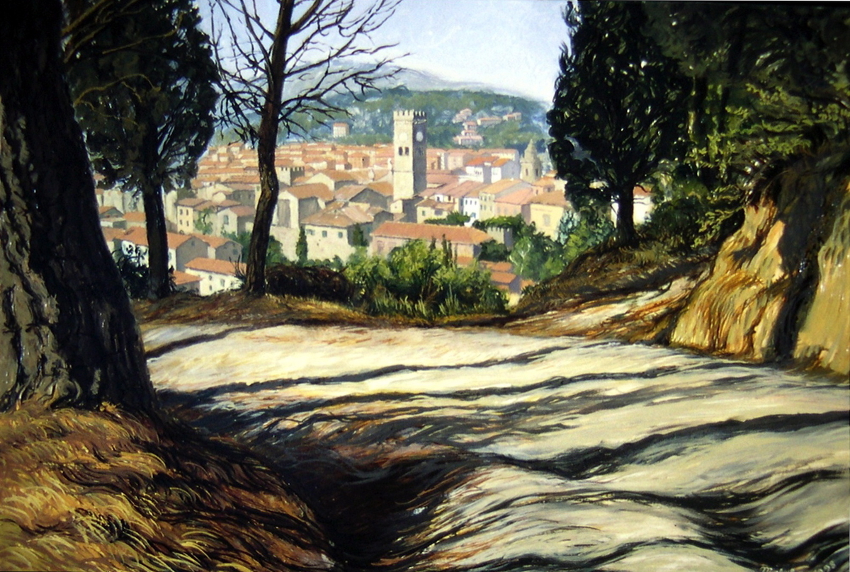 View Of Poggibonsi (large view)