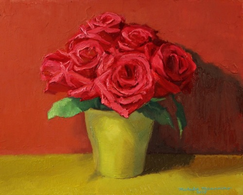 """Red Roses"" by Michela Mansuino"