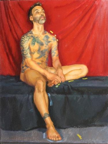 The Tatooed Man (large view)