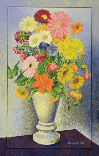 Lorraine's Flowers by Michela Mansuino