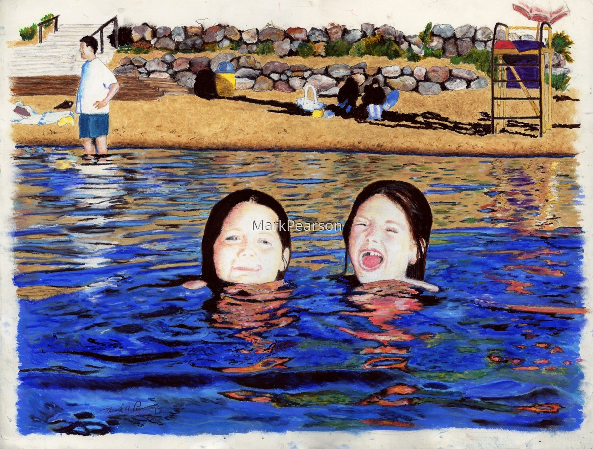 Girls Swim (large view)