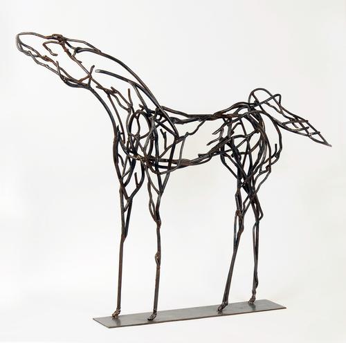 Gazing Horse