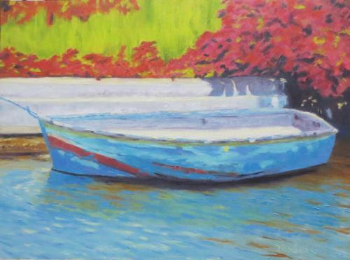 The Old Rowboat by MaryLou Molinaro Fine Art